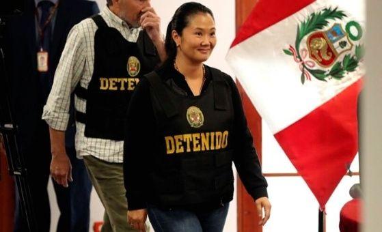 Justicia peruana evaluará nuevo pedido de prisión a Keiko Fujimori