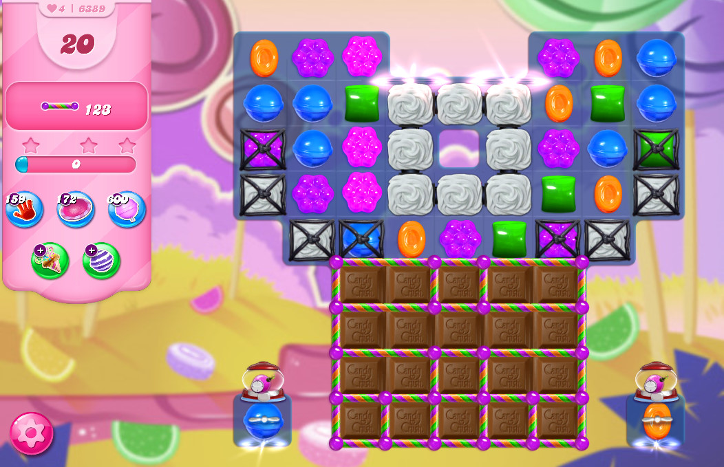 Candy Crush Saga level 6389