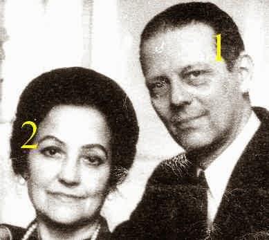Karl Anton et Alexandra von Hohenzollern