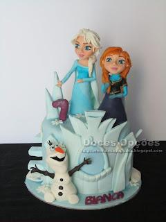 Um aniversário no Reino do Gelo - Frozen