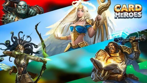 Card Heroes - Jogo de cartas com heróis