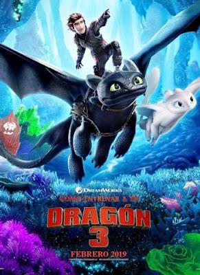 Cómo entrenar a tu dragón 3 en Español Latino