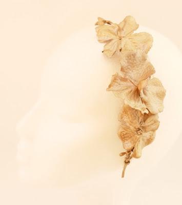 OI 1617 - Coleccion Flor - Cobre verde - Diadema Tocado