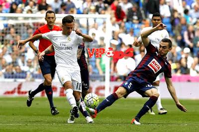يلا كورة اخبار الدوري الاسباني مباراة ريال مدريد امام ايبار في اطار فعليات الجولة الثانية عشر .