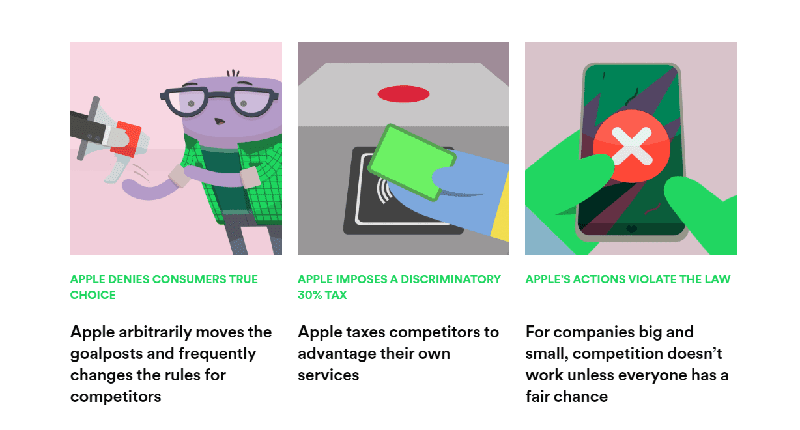 Spotify outlines how Apple hamper competitors through the App Store