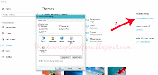 desktop icons in Windows 10 Creators Update - How to get, lock, download or fix no or missing desktop icons