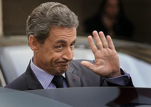 Nicolas Sarkozy, cujo sonho de um retorno triunfal à Presidência francesa foi destruída no domingo, não conseguiu livrar-se da reputação controversa