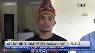 Adi Rominto Siap Mempertahankan Sabuk Juara Flyweight One MMA