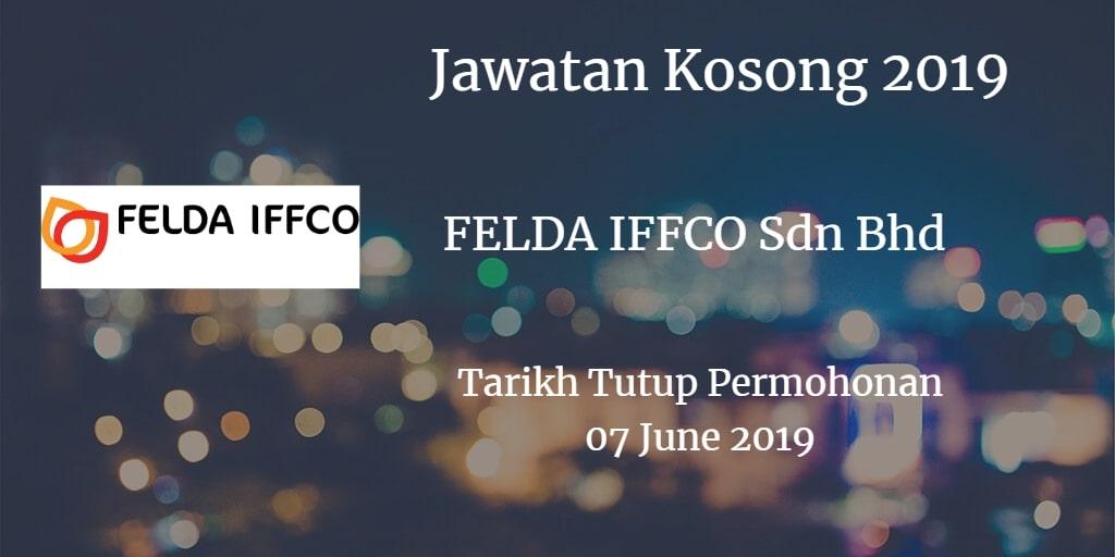 Jawatan Kosong FELDA IFFCO Sdn Bhd 07 June 2019