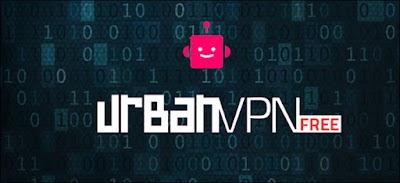 برنامج  Urban vpn تقوم بعمل إتصال أنترنت خاص بك بدولة أو بموقع إفتراضي