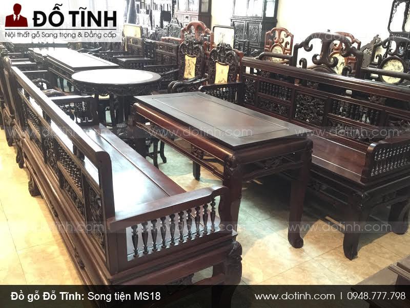 Nơi bán trường kỷ gỗ gụ giá rẻ tại Nam Định