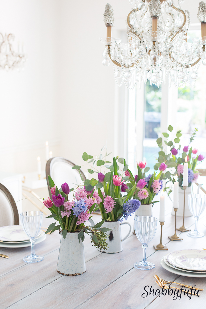 How To Achieve A Spring Look In A White Room Shabbyfufu - Achieve french country style