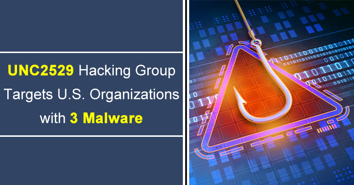 New Financially Motivated UNC2529 Hacking Group Targets U.S. Organizations with 3 Malware