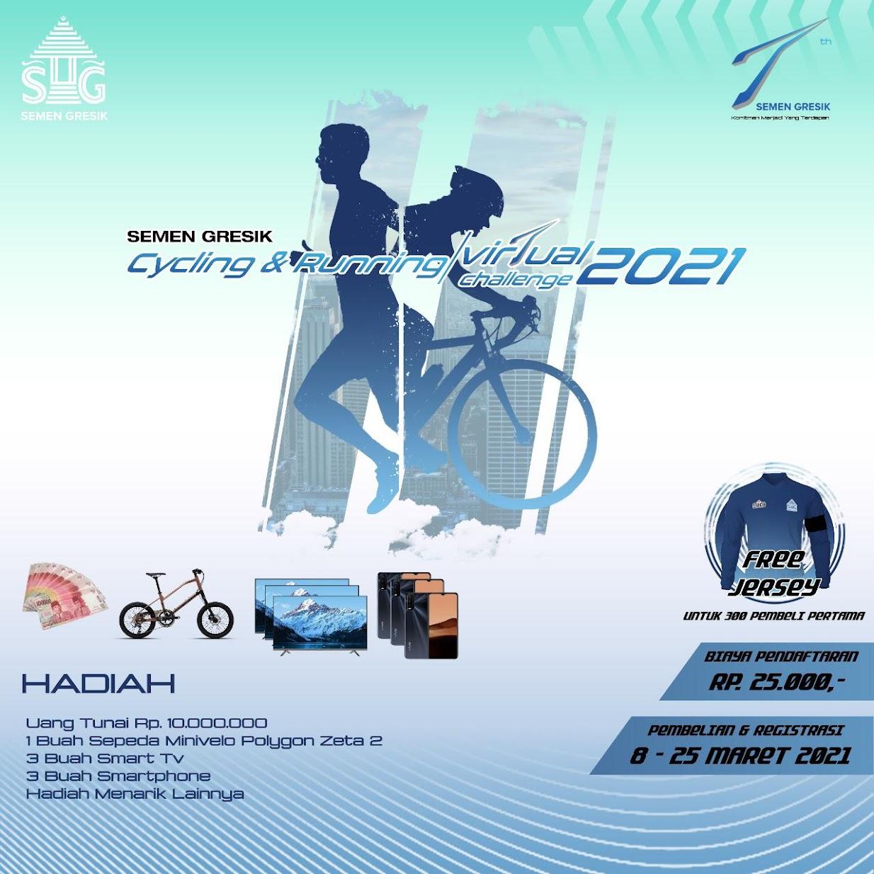 SG Cycling & Running Vir7ual Challenge • 2021
