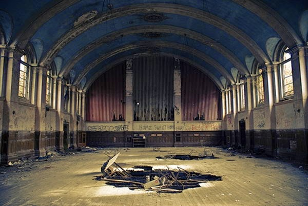 Hellingly Hospital, United Kingdom | 10 Scariest Abandoned Hospitals in the world