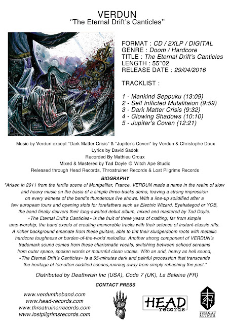 Detail from Verdun New Album, The Eternal Drift's Canticles, Detail from Verdun New Album The Eternal Drift's Canticles
