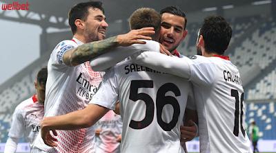 Bóng Đá Trực Tuyến: Nhận định soi kèo AC Milan vs Sassuolo