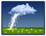 Como se formam os raios atmosféricos