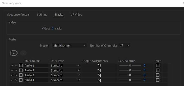 Membuat File Audio Multichannel di Premiere Pro