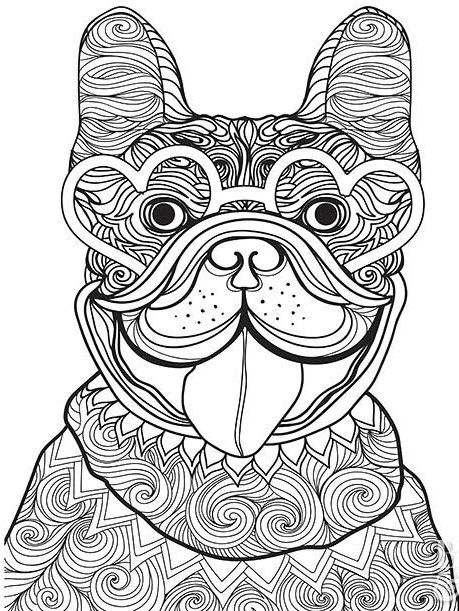 Dogs coloring pages 59