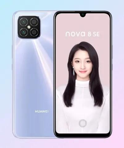 Spesifikasi Huawei Nova 8 SE
