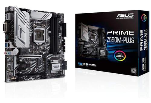ASUS Prime Z590M-PLUS microATX Motherboard
