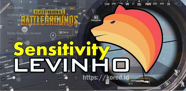 Setting Sensitivity Levinho