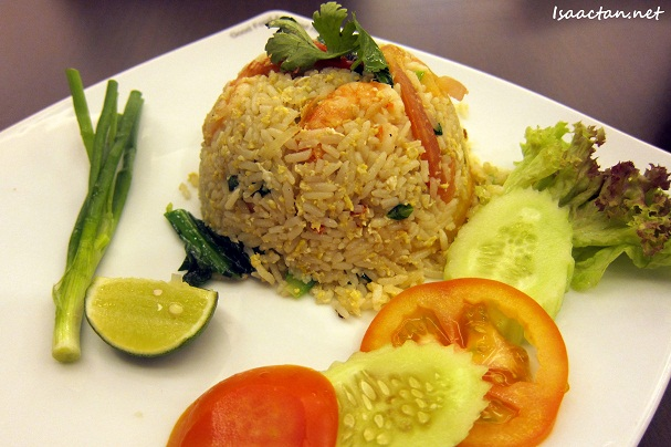 Thai Styled Fried Rice with Prawns
