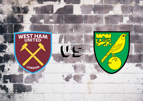 West Ham United vs Norwich City  Resumen
