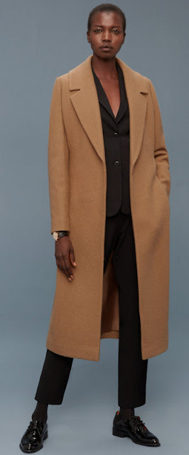 camel coat on Aritzia.com