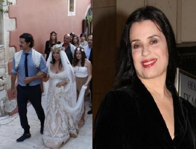Παντρεύτηκε η Μαρία Τζομπανάκη! Φωτογραφίες από τον παραμυθένιο γάμο!