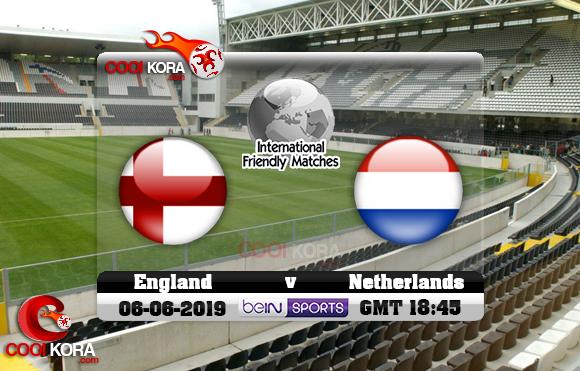 مشاهدة مباراة هولندا وإنجلترا اليوم 6-6-2019 دوري الأمم الأوروبية