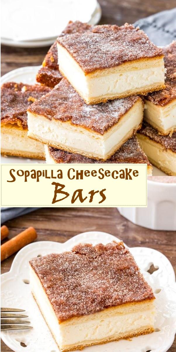 Sopapilla Cheesecake Bars #dessertrecipes