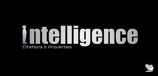 L'intelligence en quelques citations célèbres