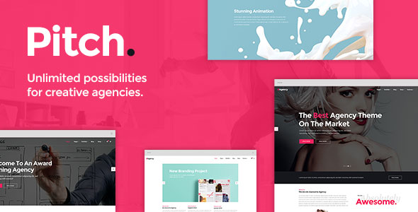Free downloa dPitch - A Theme for Freelancers and Agencies
