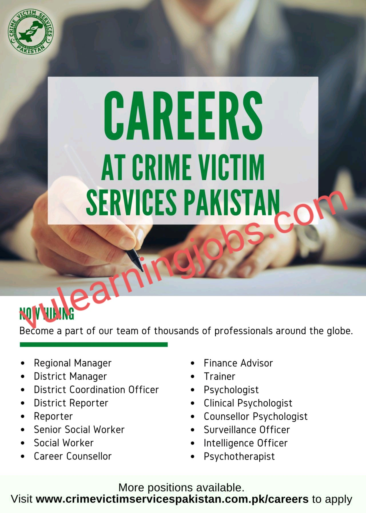 National Crime Victim Services Jobs In Pakistan May 2021 Latest | Apply Now