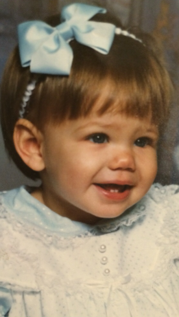 whitney as a baby