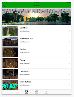 Maps Multiplayer Mods for Minecraft PE edtech edtechchris