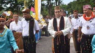Uskup Terpilih, Mgr. Siprianus Hormat, Pr Makan Malam di Rujab Bupati Mabar
