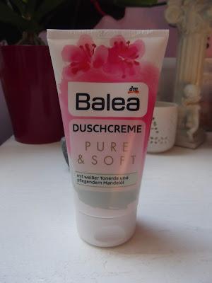 Balea sprchový krém Pure & Soft