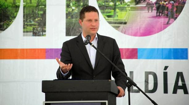 Alcalde de Quito Mauricio Rodas