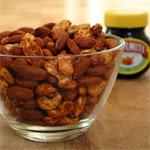 Riešutai su Marmite ekstraktu