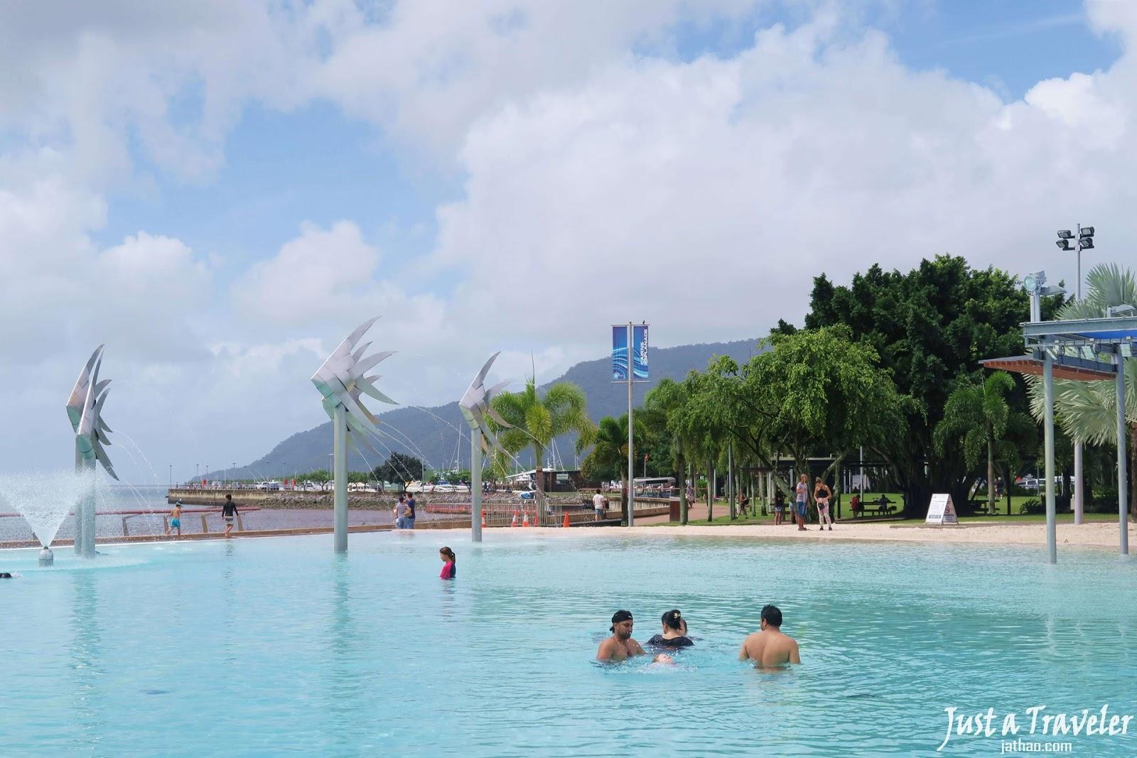 凱恩斯-景點-推薦-海濱泳池-濱道潟湖-旅遊-自由行-澳洲-Cairns-Tourist-Attraction-Esplanade-Lagoon-Travel-Australia
