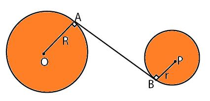 garis singgung lingkaran dalam