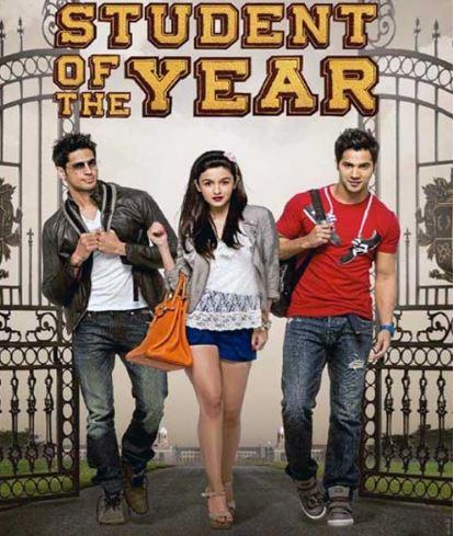 Student Of The Year Movie Dialogues | Varun, Sidharth & Alia Bhatt