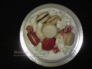 Bolo Macarons bragança