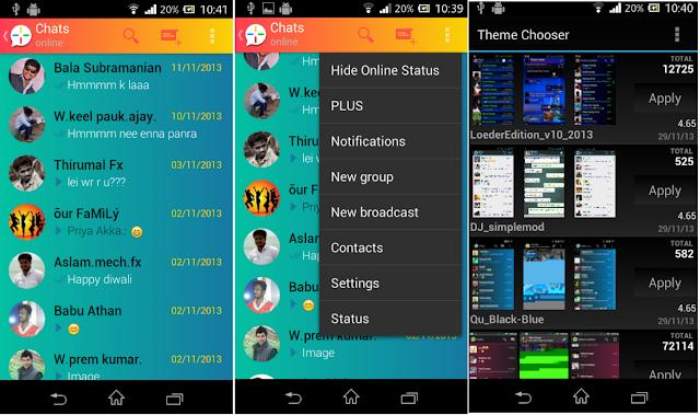 تحميل وتثبيت اخر اصدار من تطبيق واتس اب بلس WhatsApp plus v5.50