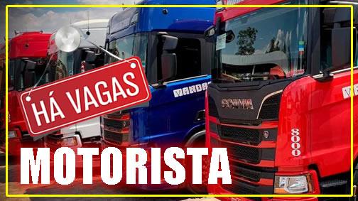 Transportadora Mandacari está contratando Motorista de Grãos