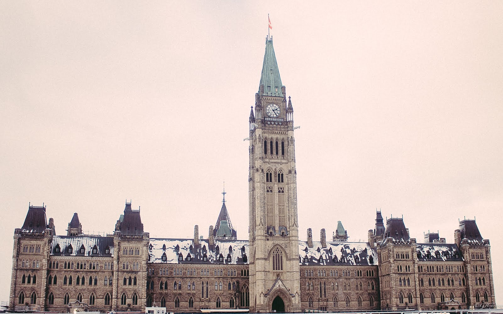 Parliament Hill in Winter: Things To Do in Ottawa, Ontario, Canada