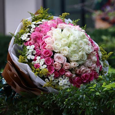 Beautiful rose bouquet Hanoi